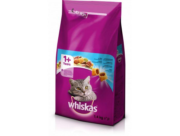 Whiskas hrana za mačke tuna 1,4kg