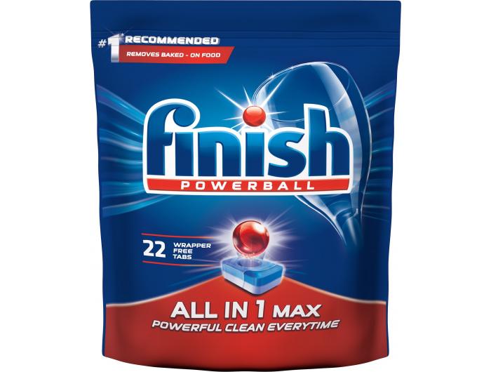 Finish All in one  tablete za posuđe 1 pak 22 kom