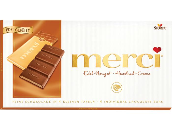 Merci Čokolada Nougat 112 g