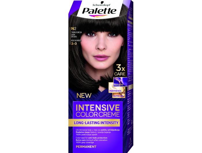 Palette Boja za kosu  tamno smeđa 1 kom