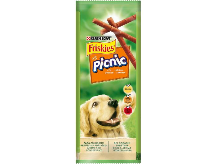 Friskies Purina Hrana za pse picnic piletina 42 g