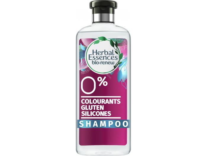 Herbal Essences Real Botanicals šampon smirisom slatke metvice i svježe bijele jagode  400 ml