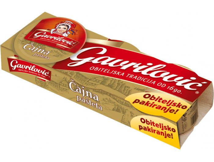 Gavrilović pašteta čajna 1 pak 3x100 g