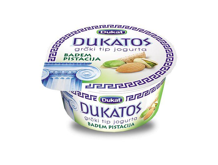 Dukat Dukatos jogurt s bademom i pistacijom 150 g