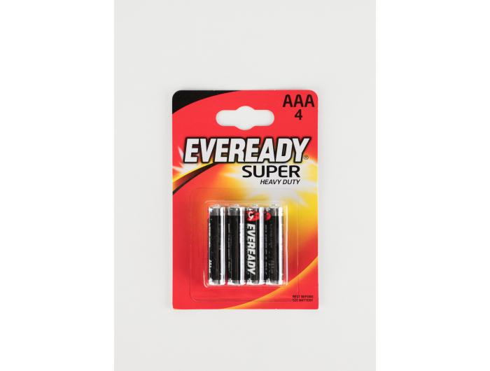 Eveready baterije AAA/R3 4 kom