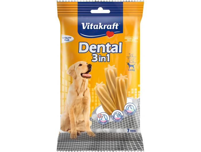 VitakraftDental 3u1 dodatna hrana za pse 180 g