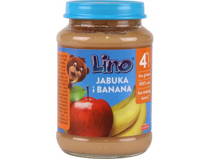 Podravka Lino Dječja kašica jabuka i banana 190 g