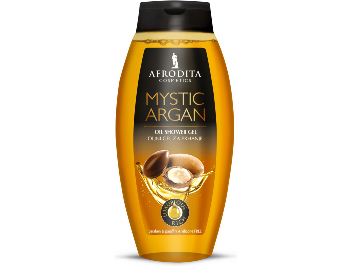 Afrodita Uljni gel za tuširanje mystic argan 250 ml