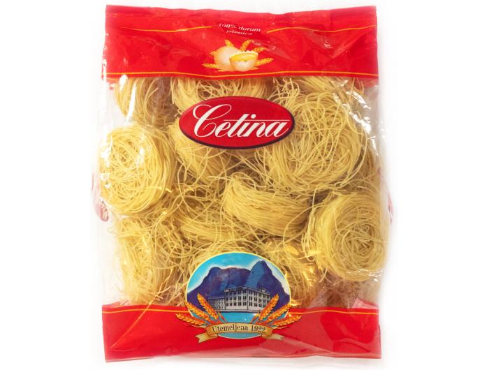 Cetina tjestenina savijena tanka br. 67 s jajima 400 g