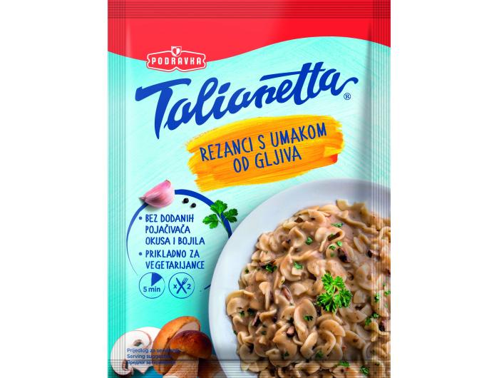 Podravka Talianetta rezanci s umakom od gljiva 140 g