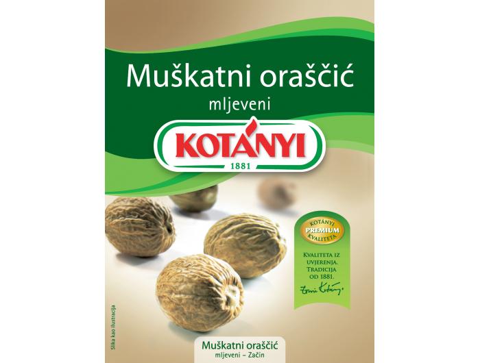Kotany mljeveni muškatni oraščić 18 g