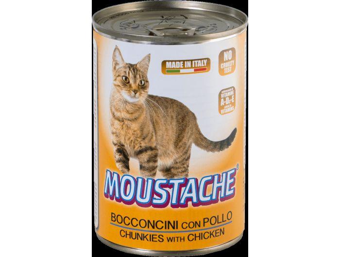 Moustache hrana za mačke piletina 415 g