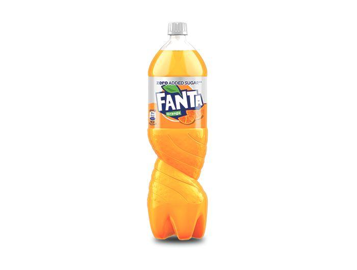 Fanta Orange Zero 2 L