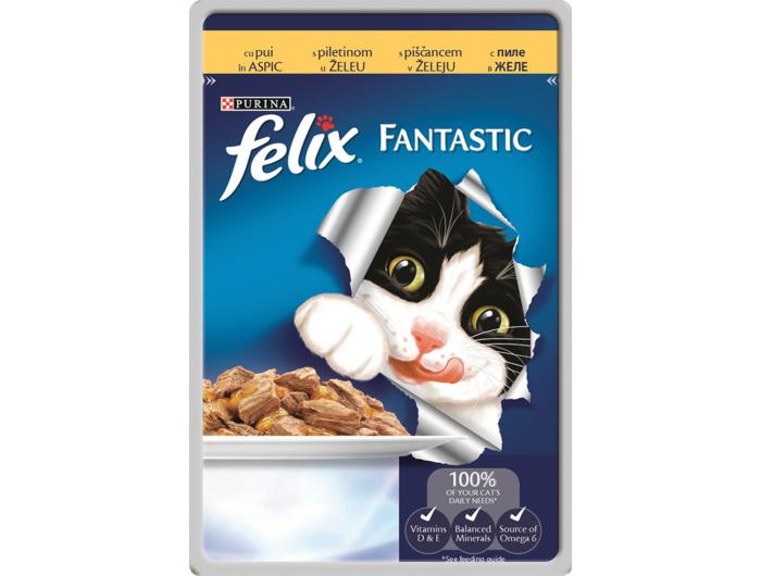 Felix Hrana za mačke piletina vrećica 100 g