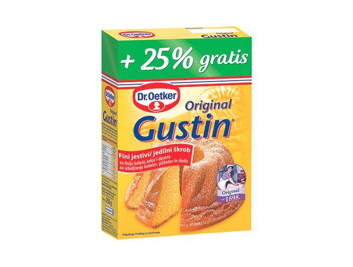 Gustin, 200 g, +25% GRATIS, Dr. Oetker