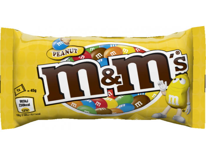 M&M's peanut 45 g