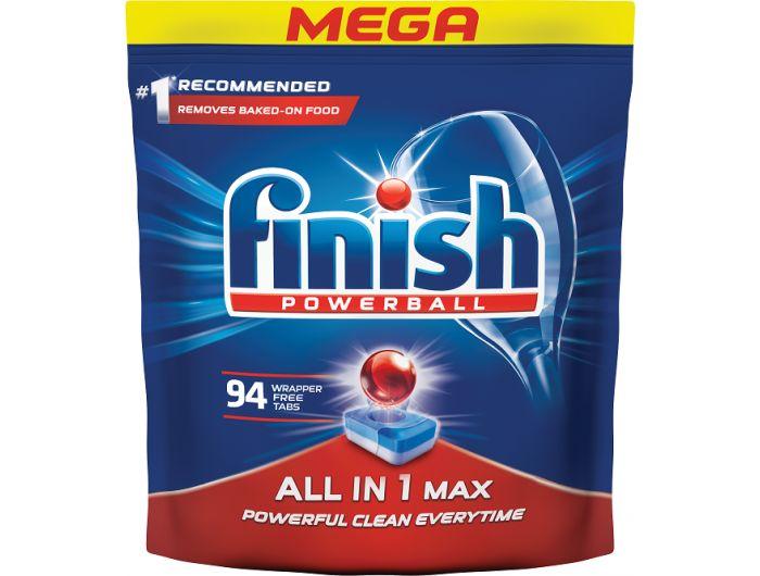 Finish deterdžent za strojno pranje posuđa All in one max 94 kom