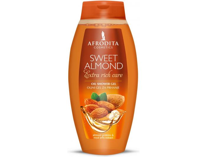 Afrodita Sweet Almond gel za tuširanje 250 ml