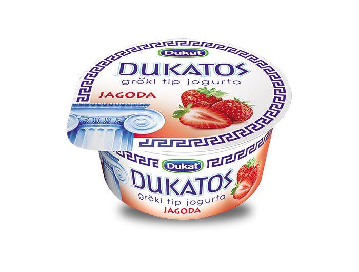 Dukat Dukato voćni jogurt jagoda 150 g