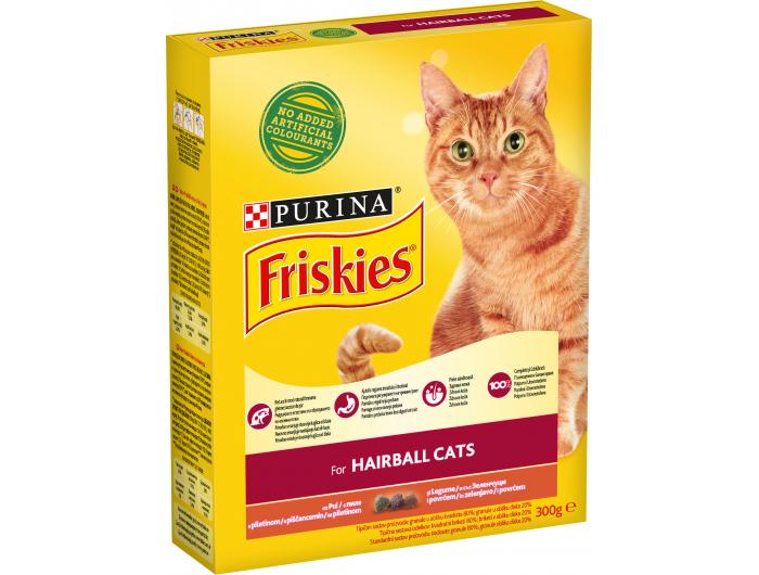 Friskies Hrana za mačke hairball 300 g