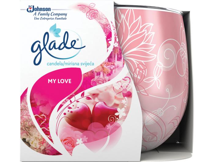 Glade® Mirisna svijeća - Vanilija 129 g