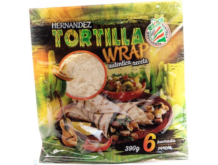 Hernandez tortilja 390 g