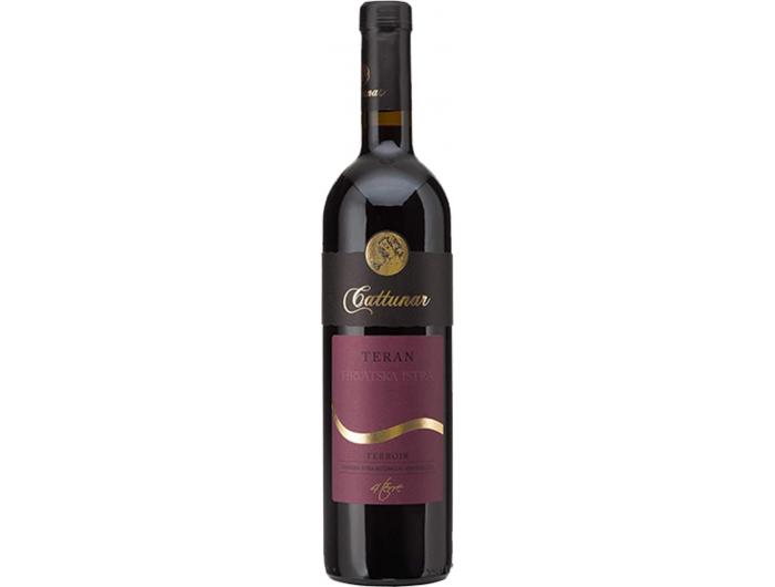 Teran Cattunar Crno vino 0,75 L