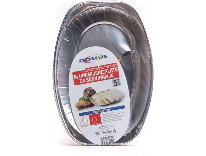 Aluminijska plata 33 cm 5 kom