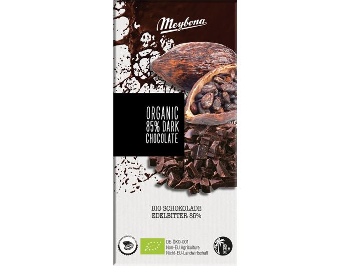 Meybona Tamna Bio čokolada 85 % 100 g