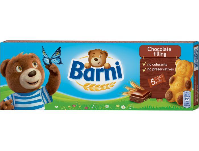 Barni biskvitni desert s čokoladnim punjenjem 150 g
