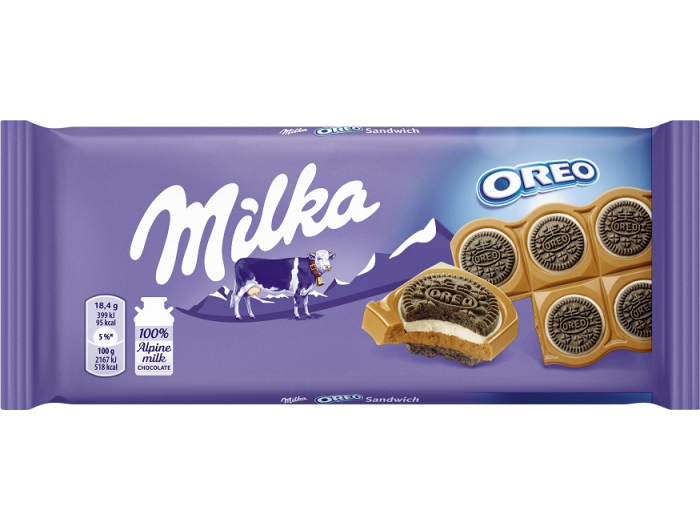 Milka Oreo čokolada 92 g