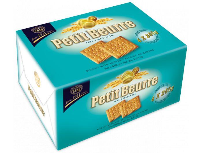 Kraš Petit Beurre keks 960 g