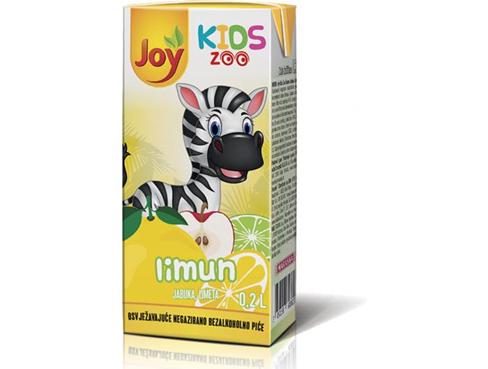 Joy kids sok od limuna zoo 0,2 L