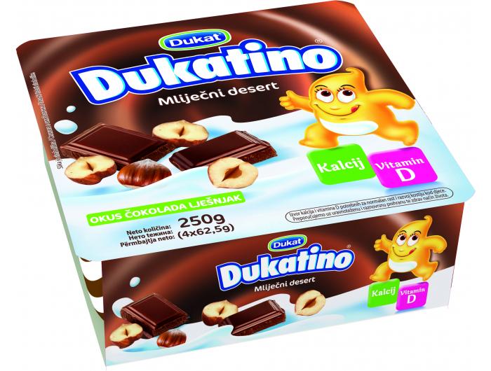 Dukat Dukatino mliječni desert 250 g