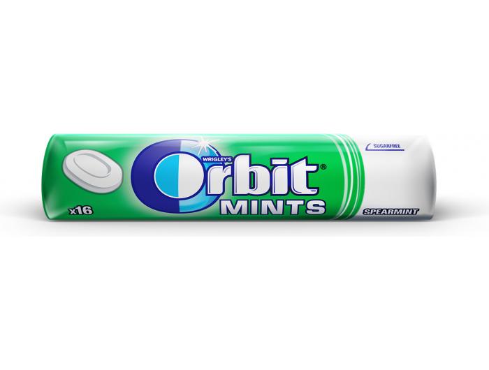 Orbit fresh mint tvrdi bomboni 28 g