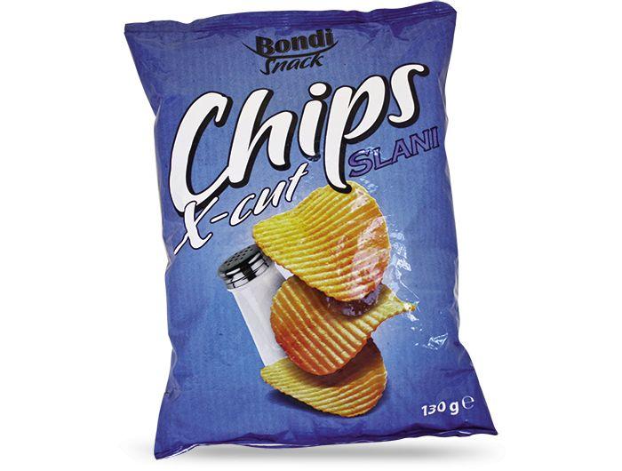 Bondi X-CUT čips slani 130 g
