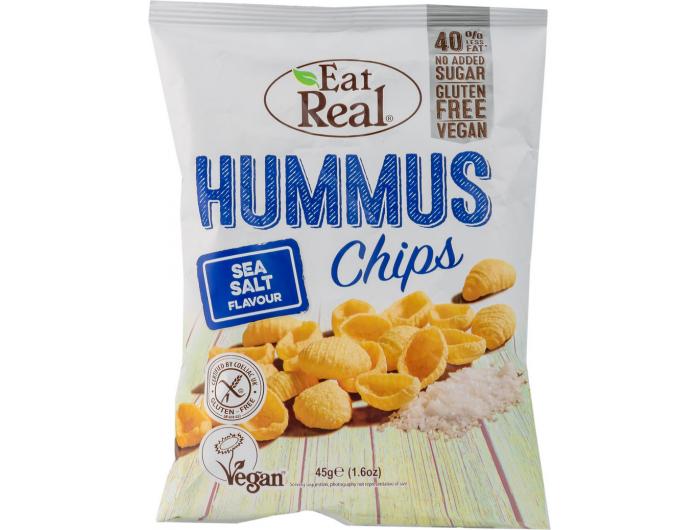 Eat Real čips od humusa bez glutena 45 g
