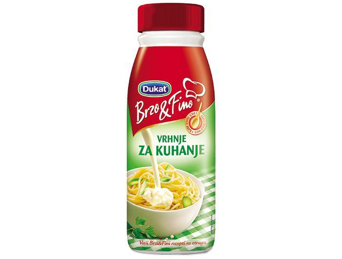 Dukat Brzo&Fino vrhnje za kuhanje 500 g
