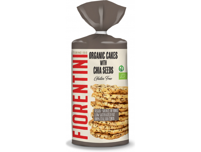 Fiorentini bio krekeri chia 120 g