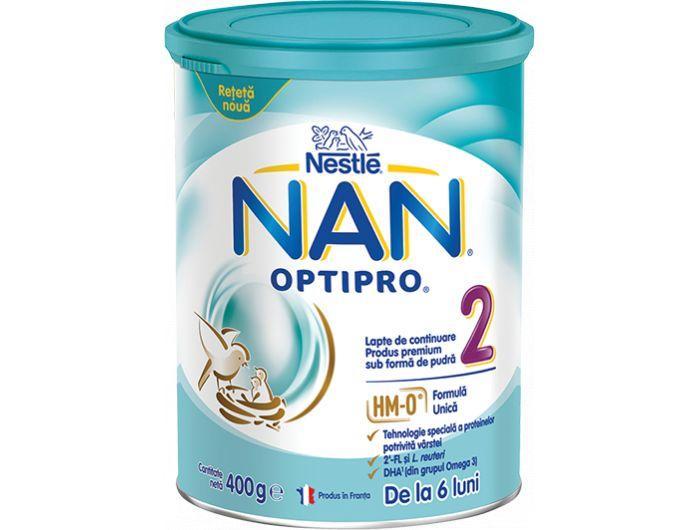 Zamjensko mlijeko, 400 g, Optipro 2, Nestlé