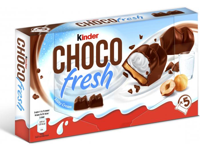 Kinder Choco fresh mliječni desert 5x20,5 g