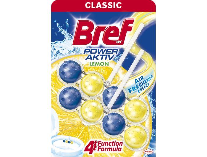 Bref WC Power Aktiv juicy lemon 2x50 g