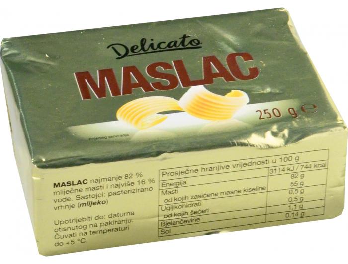 Delicato maslac 250 g