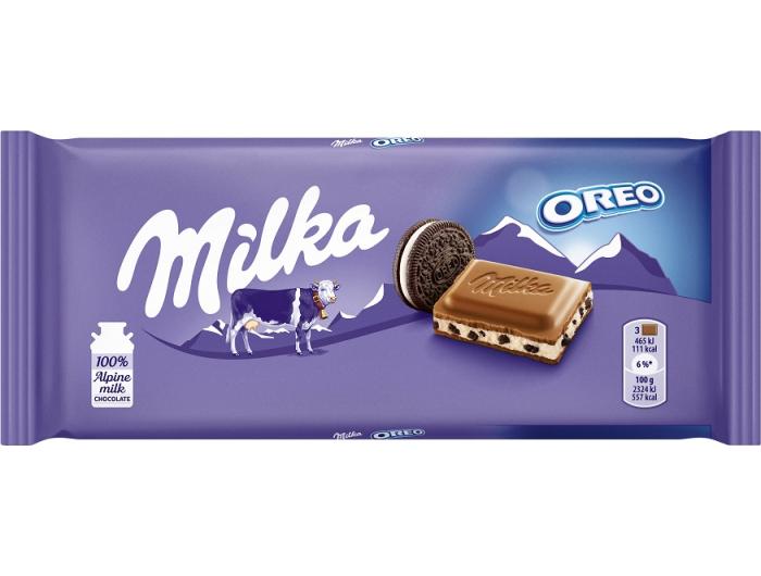 Milka Oreo čokolada 100 g