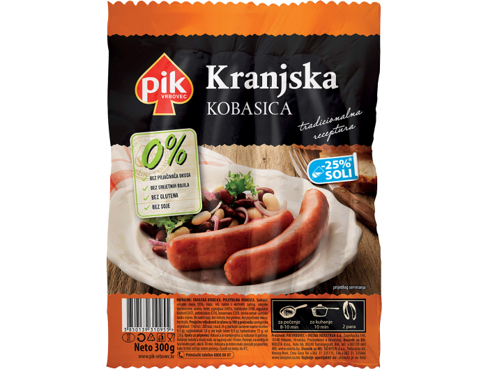 Pik Kranjska kobasica 300 g