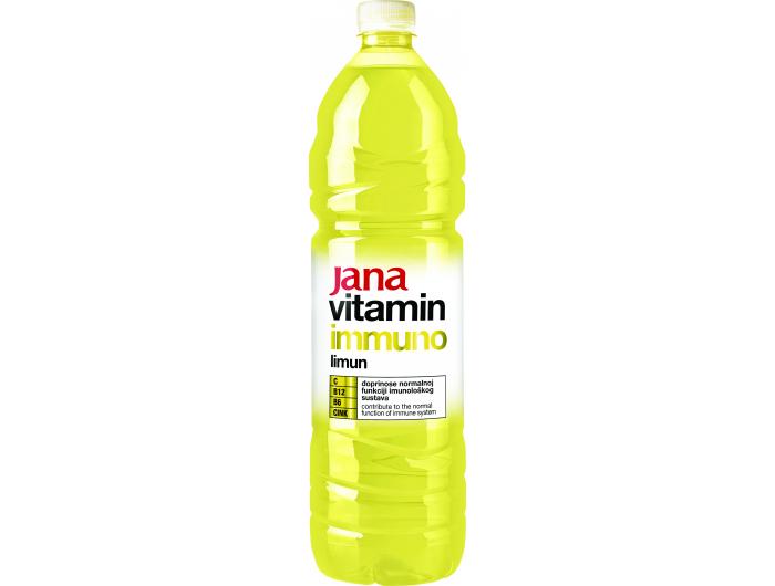Jana Vitamin Immuno Negazirano piće limun 1,5 l