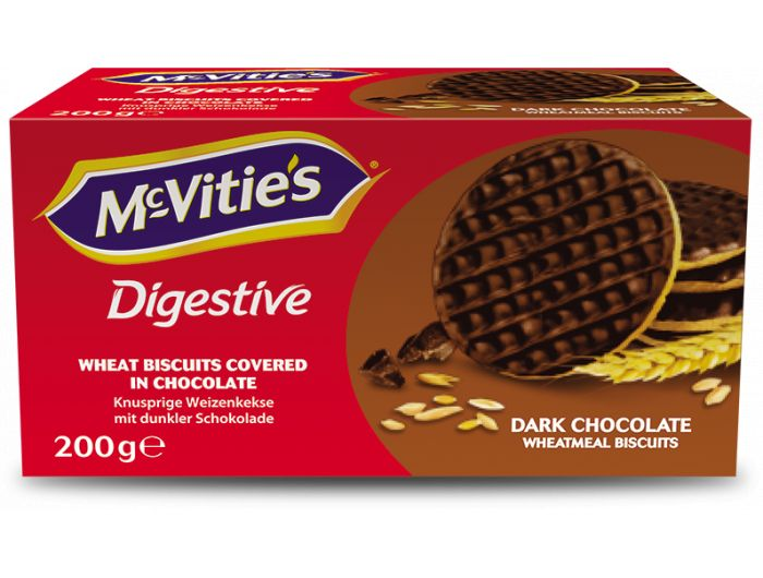 McVitie's Digestive keks s tamnom čokoladom 200 g