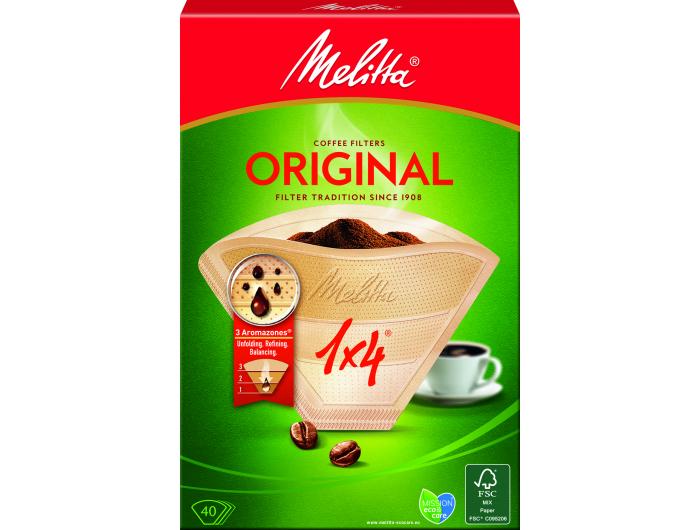 Melitta filter za kavu 1x4 40 kom