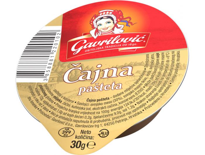 Gavrilović pašteta čajna 30 g