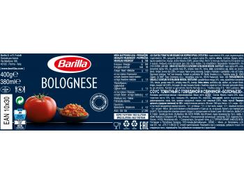 Barilla Bolognese umak 400 g